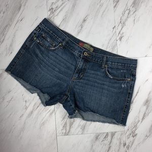Old Navy Distressed Cut Off Shorts Size 14 NWOT